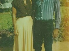 Betty Anyanwu and Oluwarotimi Akeredolu...courtship days...1980...