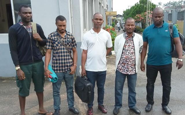 ...the five businessmen...