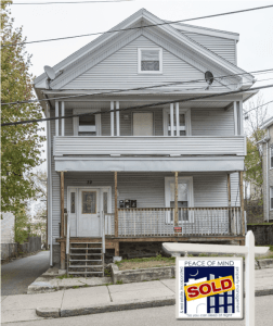 32 Grove st with sold sign