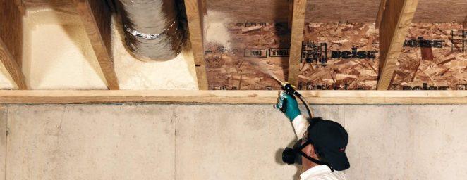 утепление деревянных стропил пенополиуретаном