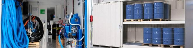 оборудование и компоненты для напыления пенополиуретана ППУ и полимочевины