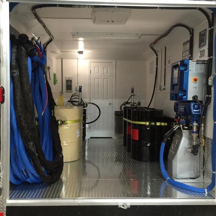Оборудование для напыления ППУ и полимочевины 2