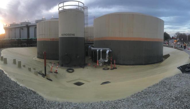 Specialty Products Inc защита зоны розлива нефтепродуктов полимочевиной