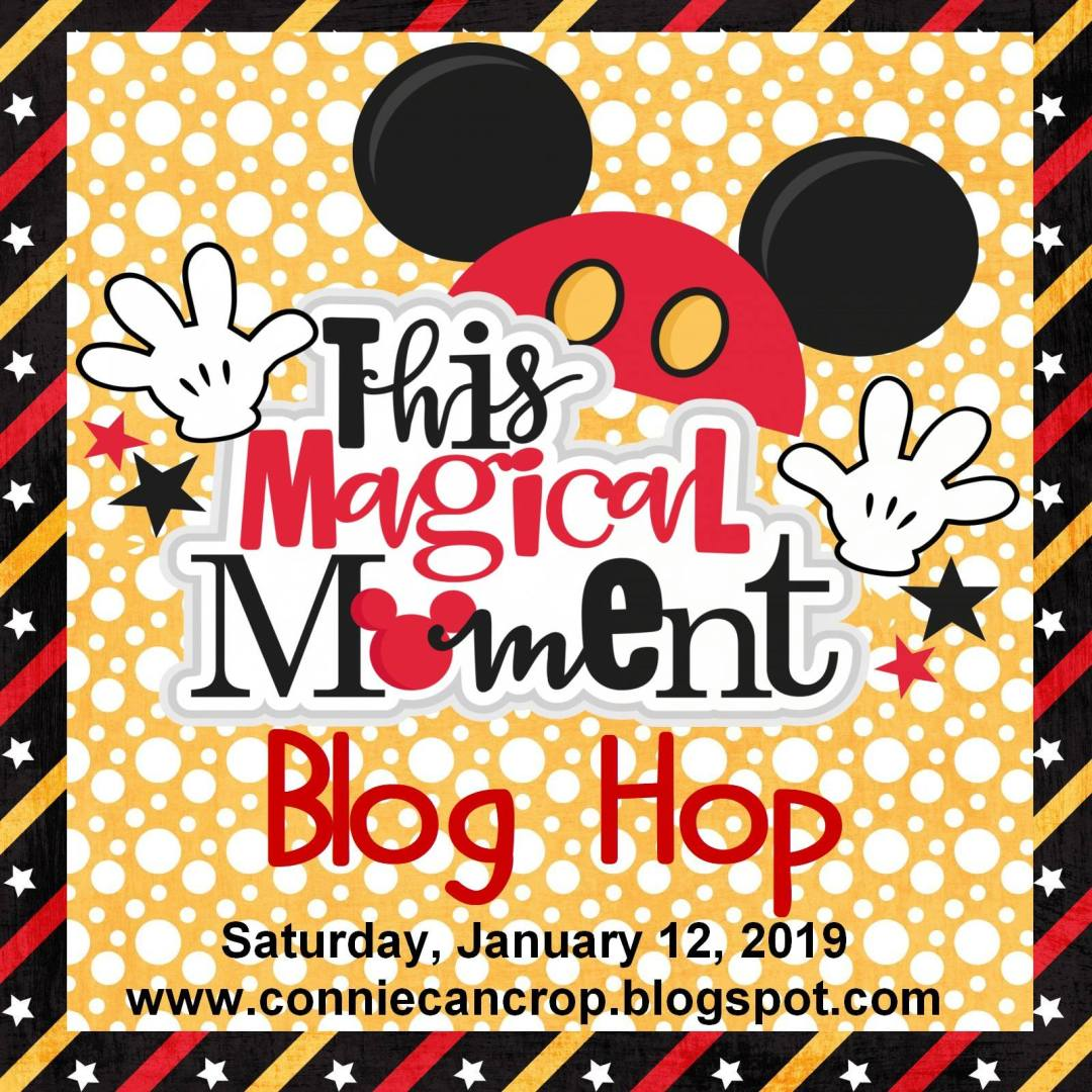 Join the Connie Can Crop monthly blog hop for tons of Disney related holiday project ideas! We have prizes too, so hop along today!
