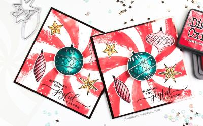 Happy Holidays with Stencils – YT Hop & Giveaway!