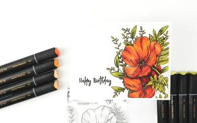 Altenew Paint-A-Flower: Poppy Release Blog Hop + Giveaway