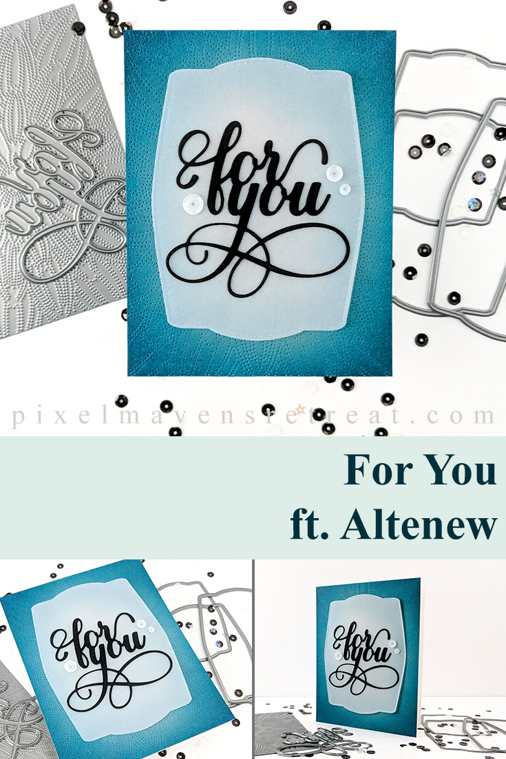 Altenew February 2020 Stencils/Decals/Stand-alone Dies Release Blog Hop + Giveaway