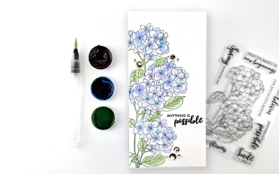 Altenew Paint-A-Flower: Hydrangea Release Blog Hop + Giveaway