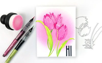 Altenew Craft-A-Flower: Tulip Release Blog Hop + Giveaway