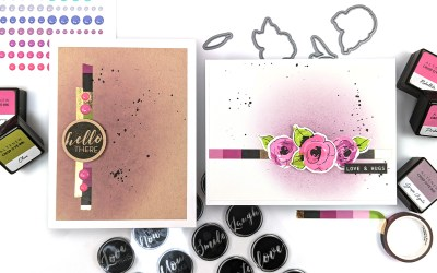 Styling 2 Cards with Simple Washi Accents   Sketch Starters #008