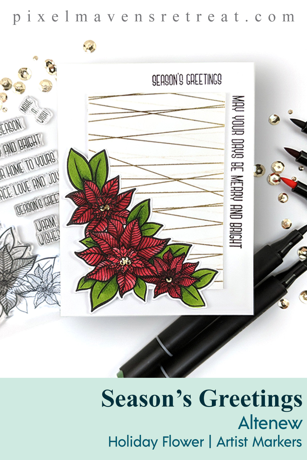 Altenew Beauty of the Season Release Blog Hop + Giveaway