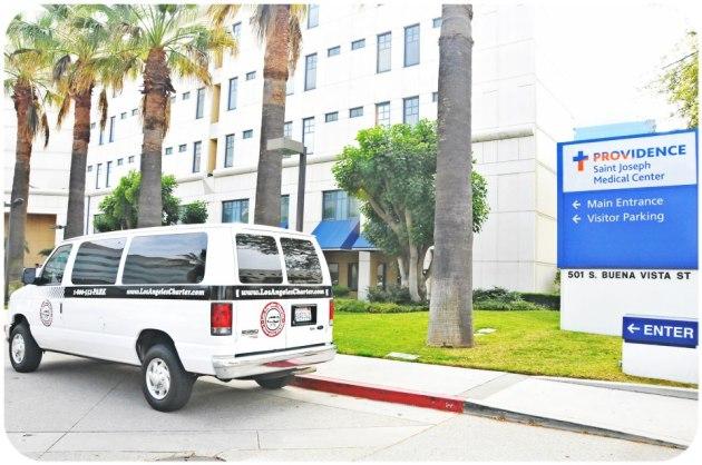 hospital valet parking