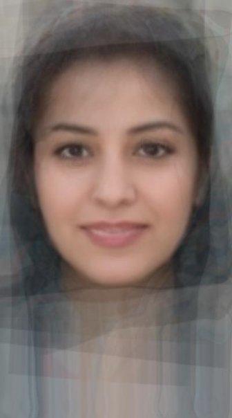 Average Iranian Woman