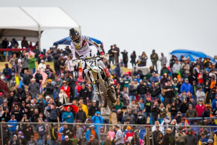 Anderson was solid in both motos en route to third overall.