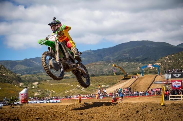 Cianciarulo's path to victory came via a win in the final moto.