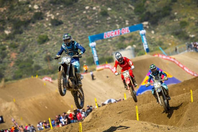 Ferrandis' strong second moto landed him on the overall podium.