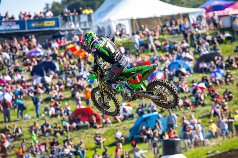 Tomac rebounded from a challenging first moto to finish in the runner-up spot.