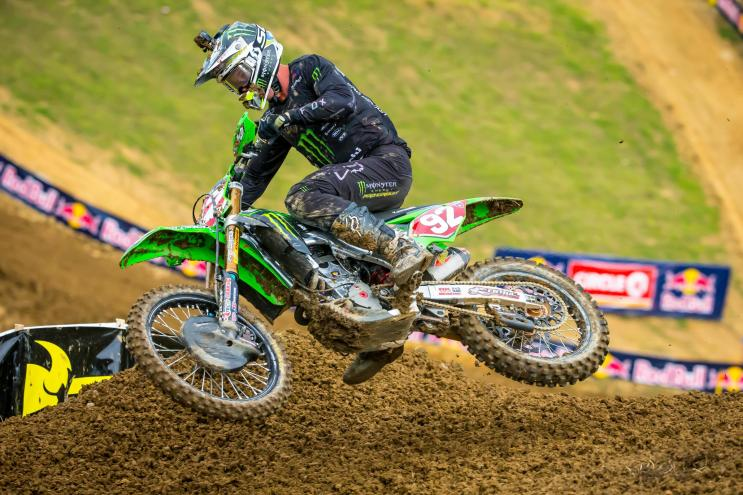 Another second moto win carried Cianciarulo to his fourth straight overall victory.