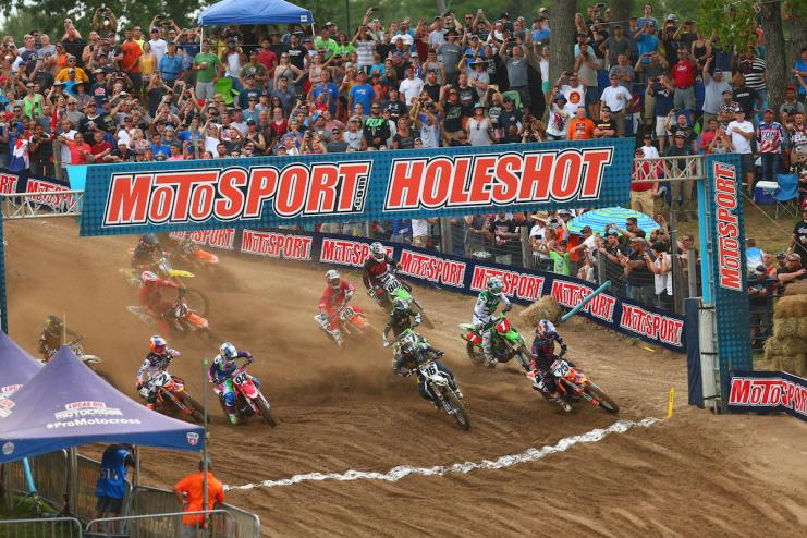 Thousands of fans were on hand to welcome Pro Motocross back to Southwick.