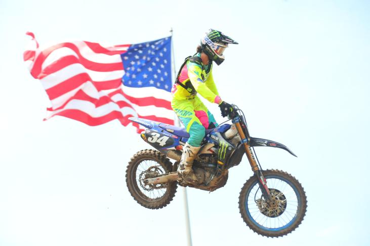 Ferrandis swept both motos for his first victory of the season.