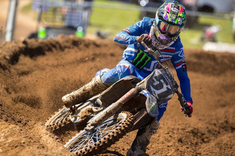 Justin Barcia continued his impressive season by completing the podium in third.