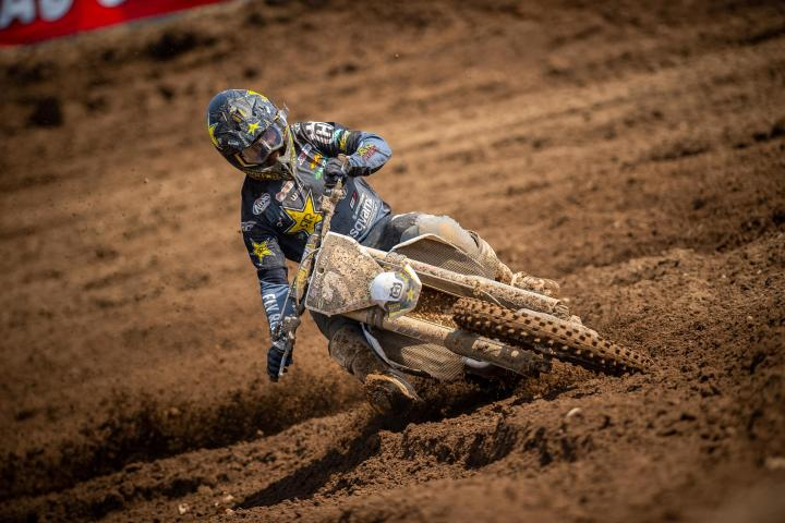 RJ Hampshire's consistency carried him to his second career 250 Class victory (2-3).