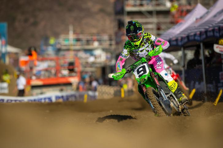 Adam Cianciarulo finished third overall to clinch the runner-up spot in the championship.
