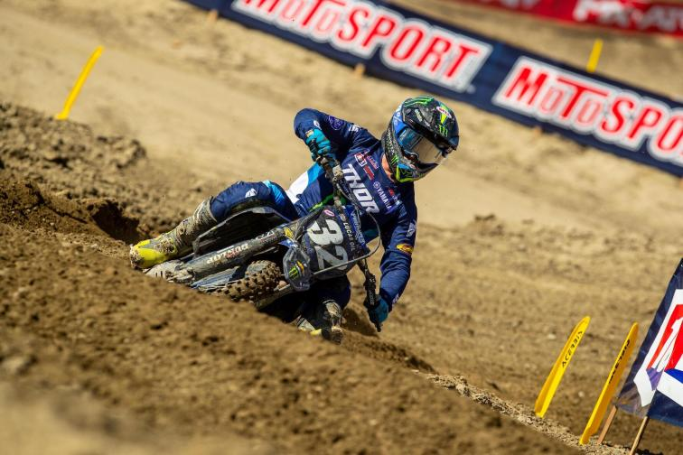Justin Cooper showed some grit en route to a third-place finish.