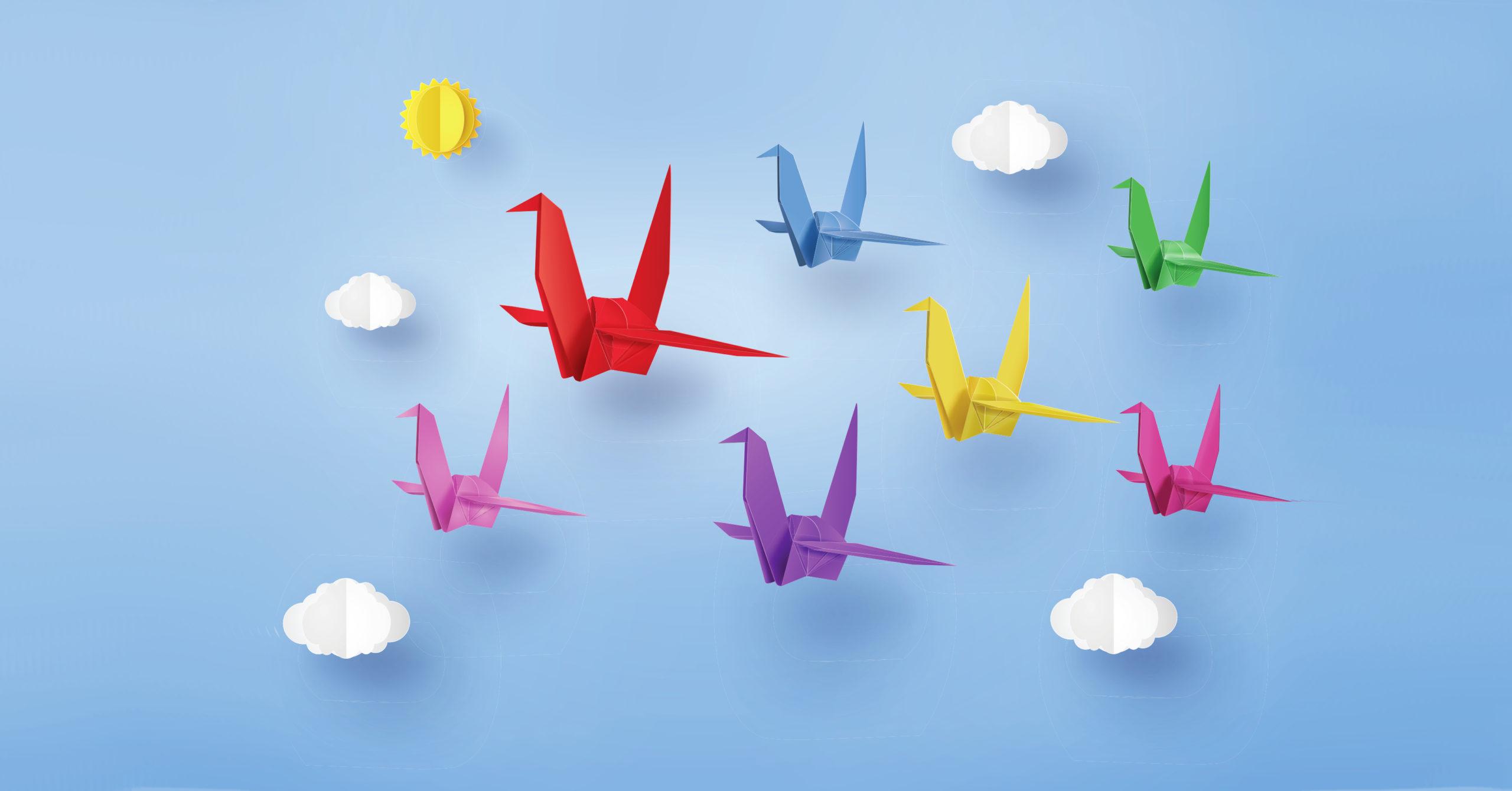 Origami paper crane transparent png | free image by rawpixel.com ... | 1340x2560