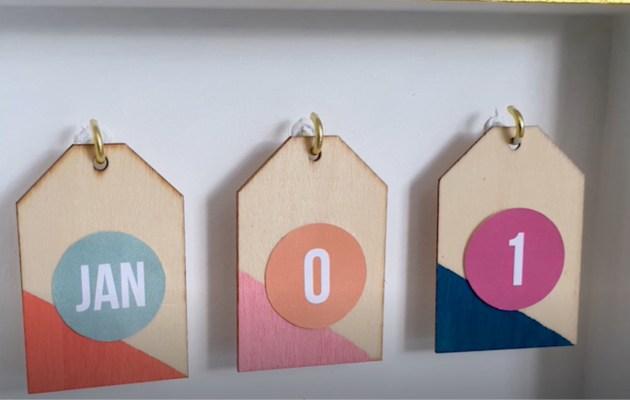 DIY Craft Calendar