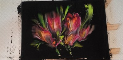 Reverse Flower Dip by Bernadette Liedeman