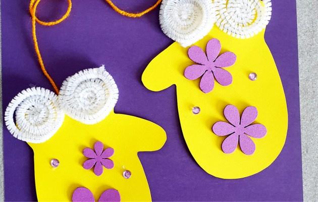 Gloves Kids Craft