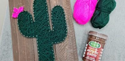 String Art Cactus