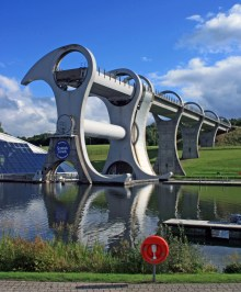 Another picture of the Falkirk Wheel