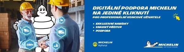 Michelin spouští MyPortal_CZ