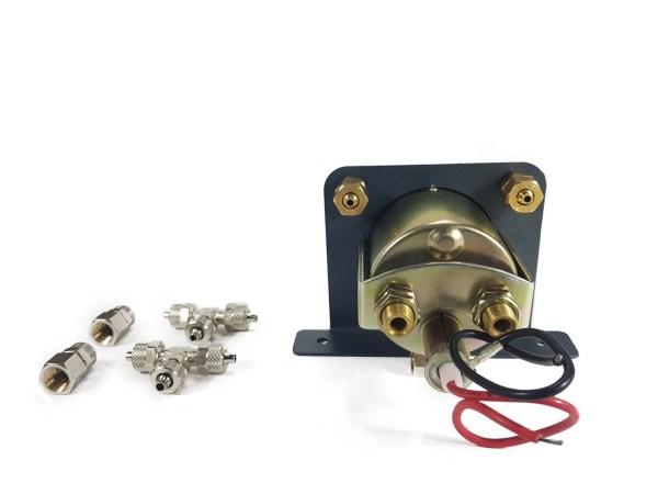 Система контроля давления (2 контура, двухстрелочный манометр с подсветкой) 2.PM