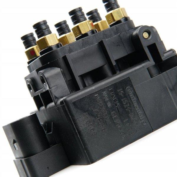 Блок клапанов пневмоподвески Audi Q7, Volkswagen Touareg, Porsche Cayenne