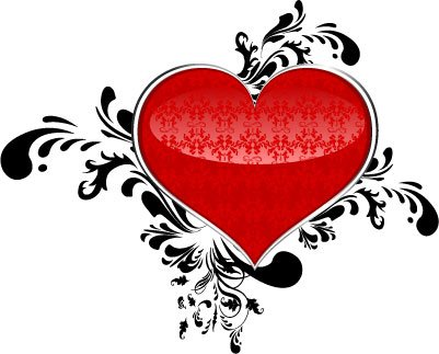 Image result for heart abstract