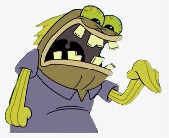 Angry Spongebob Clipart Png Png Download Meme Spongebob Png
