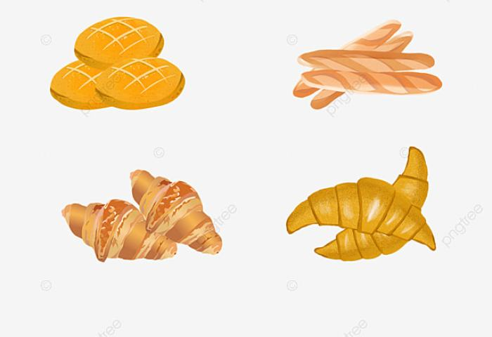 Baked Goods Bread Biscuit Baking Png Transparent Image And