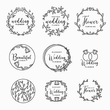 Wedding Logo Vector 520 Wedding Logo Graphic Resources For Free Download