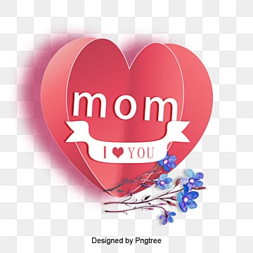 Download I Love You Mom Png, Vector, PSD, and Clipart With ...