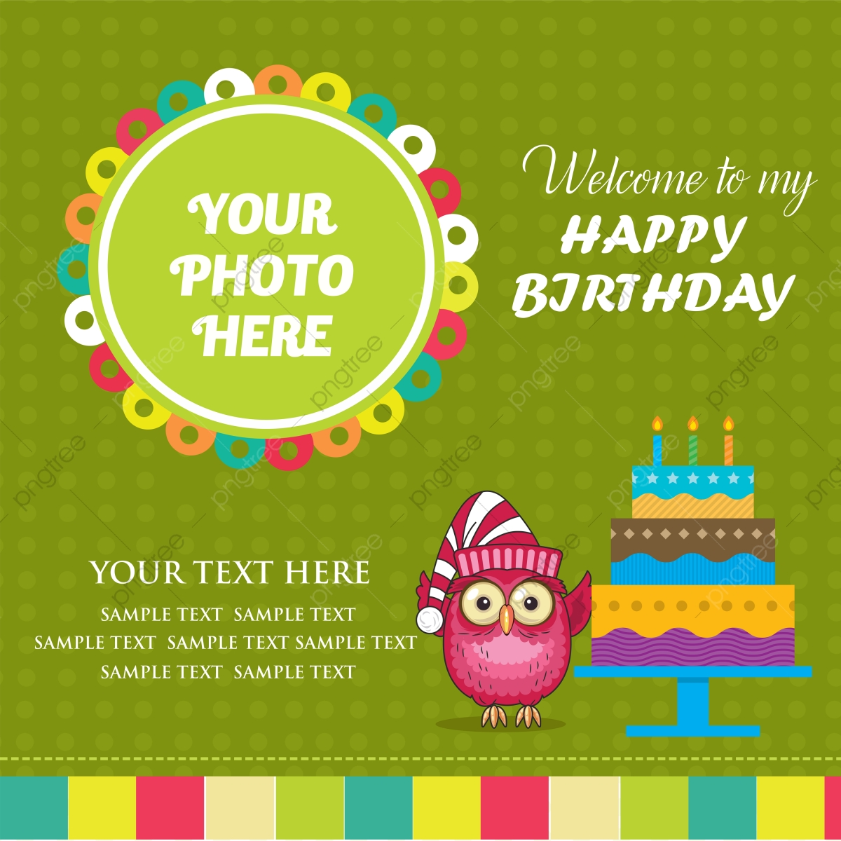 https pngtree com freepng birthday cute green invitation card design 3729773 html