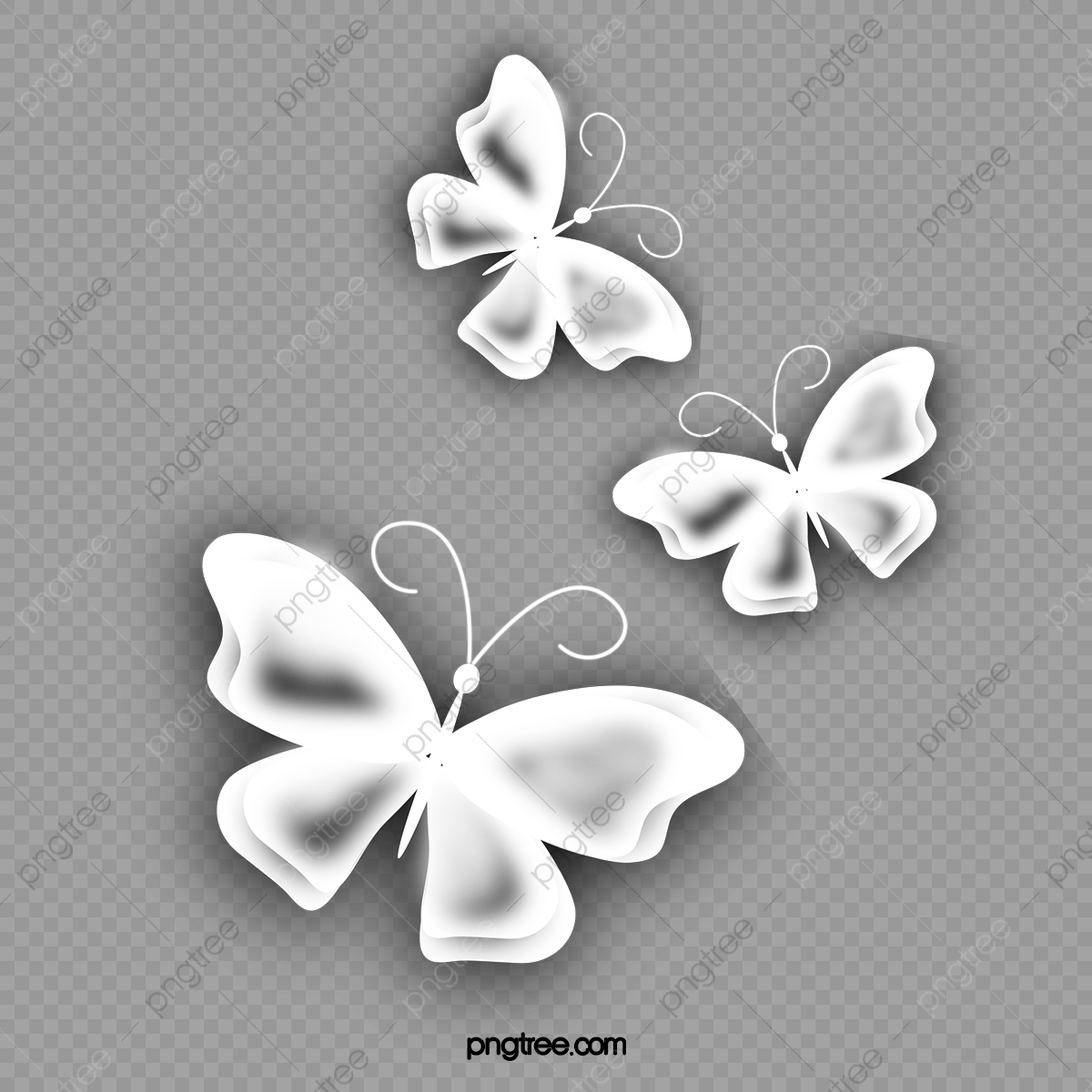 White Butterfly Butterfly Clipart Butterfly White Clipart Png Transparent Clipart Image And Psd File For Free Download