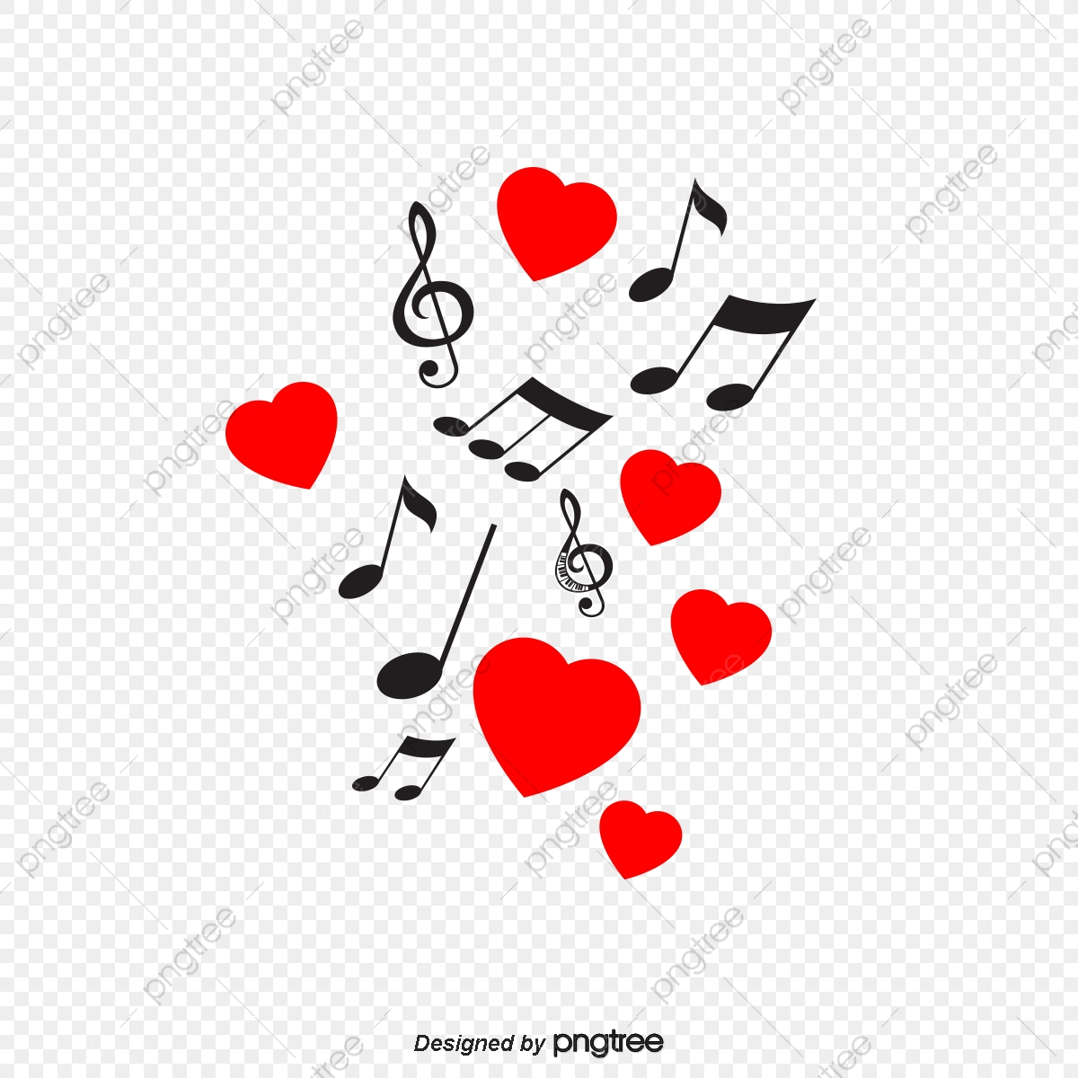 Love Music Symbol Background Love Vector Music Vector Symbol Vector Png Transparent Clipart Image And Psd File For Free Download