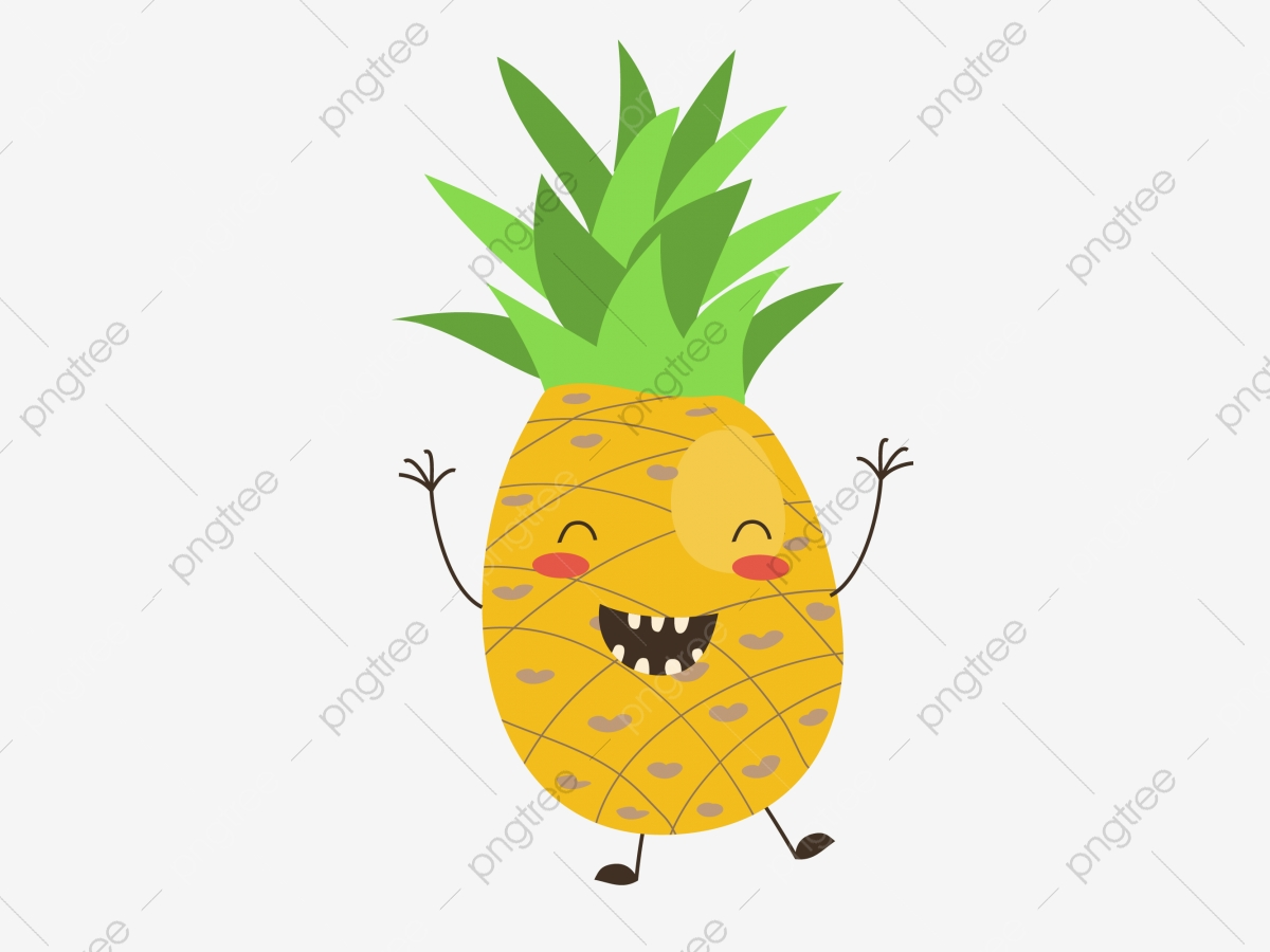 Pineapple Pineapple Clipart Creative Cartoon Png Transparent Image And Clipart For Free Download