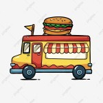 Food Truck Png Images Vector And Psd Files Free Download On Pngtree