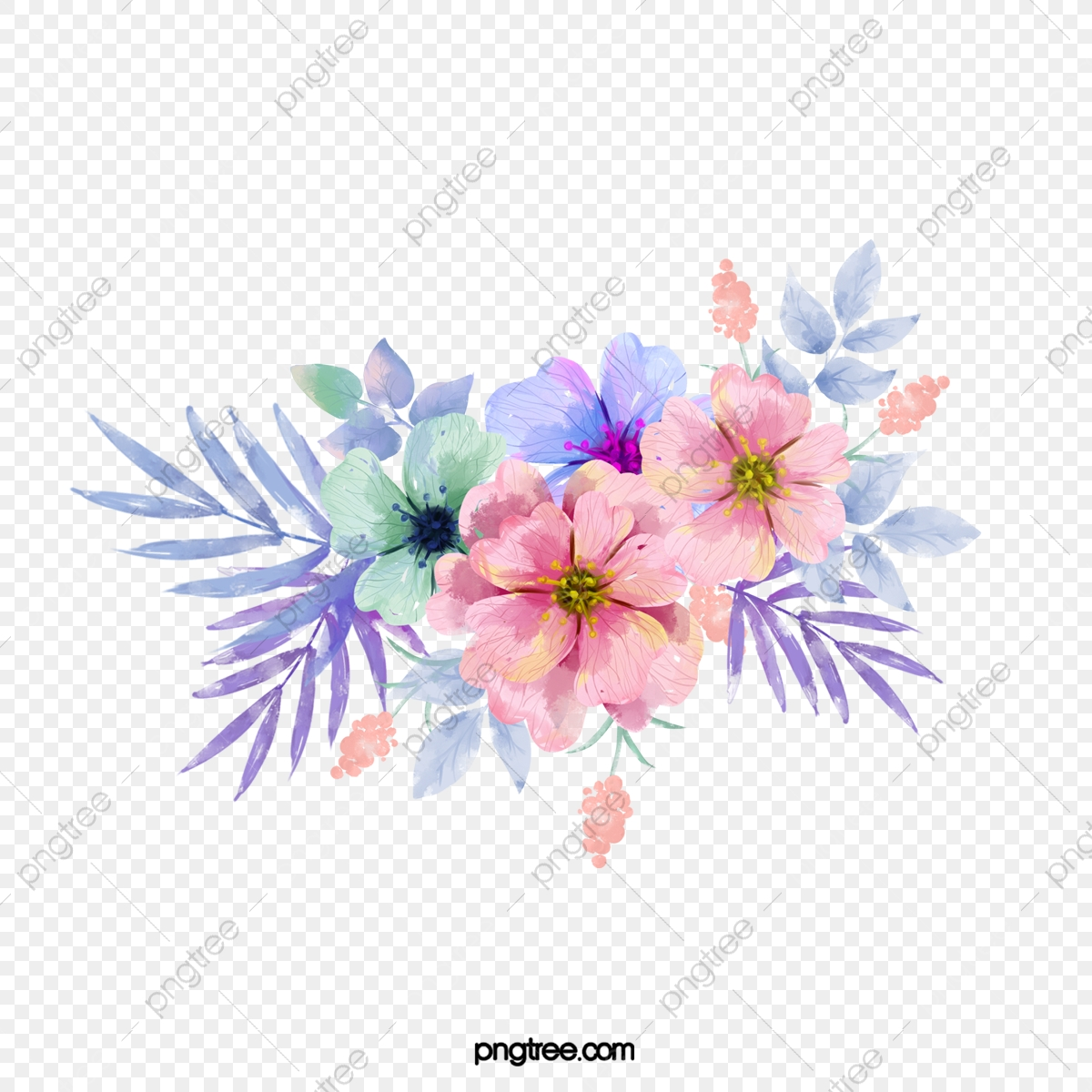 Flower Png Images Vector And Psd Files Free Download On Pngtree