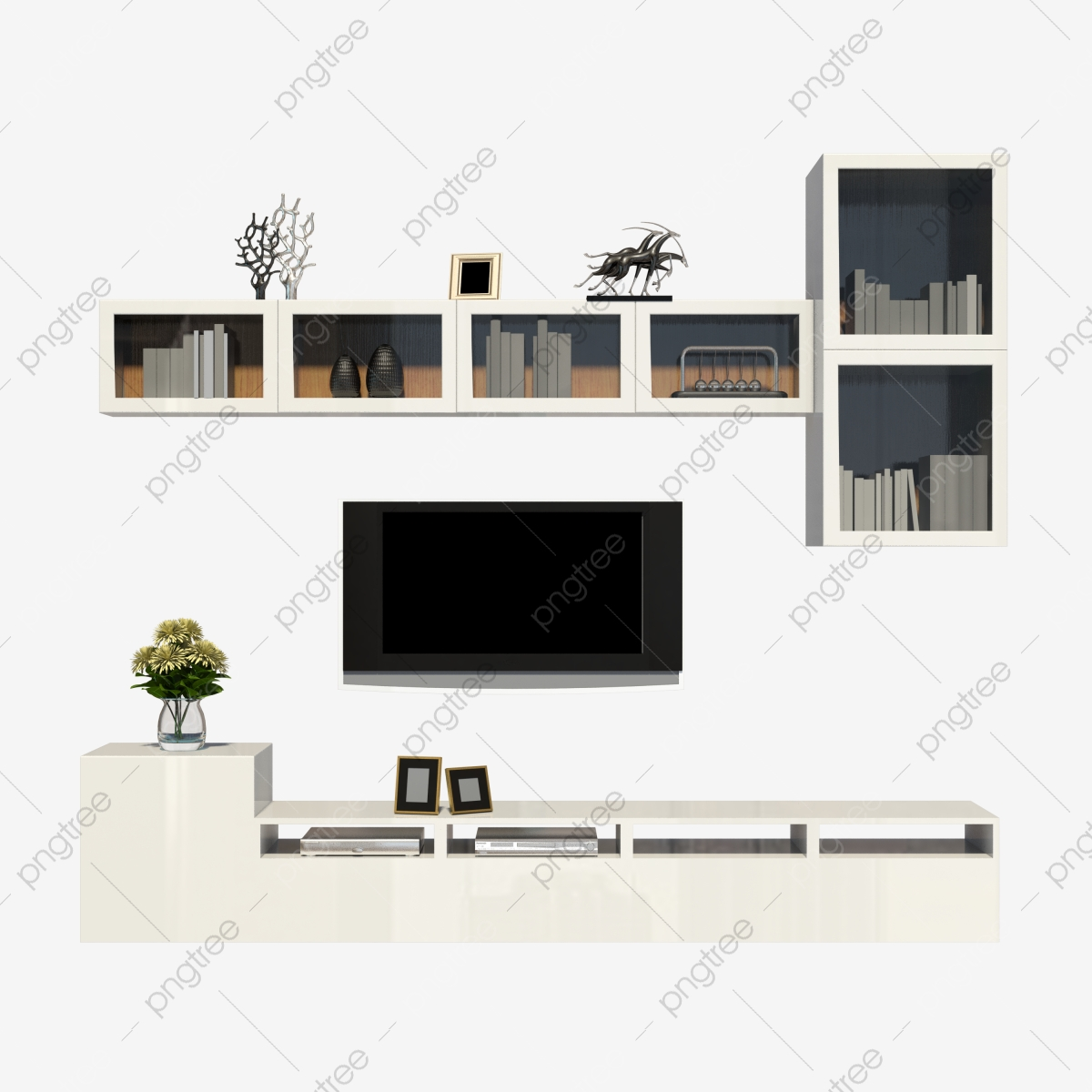 https fr pngtree com freepng living room with wall cabinet tv cabinet 4453718 html