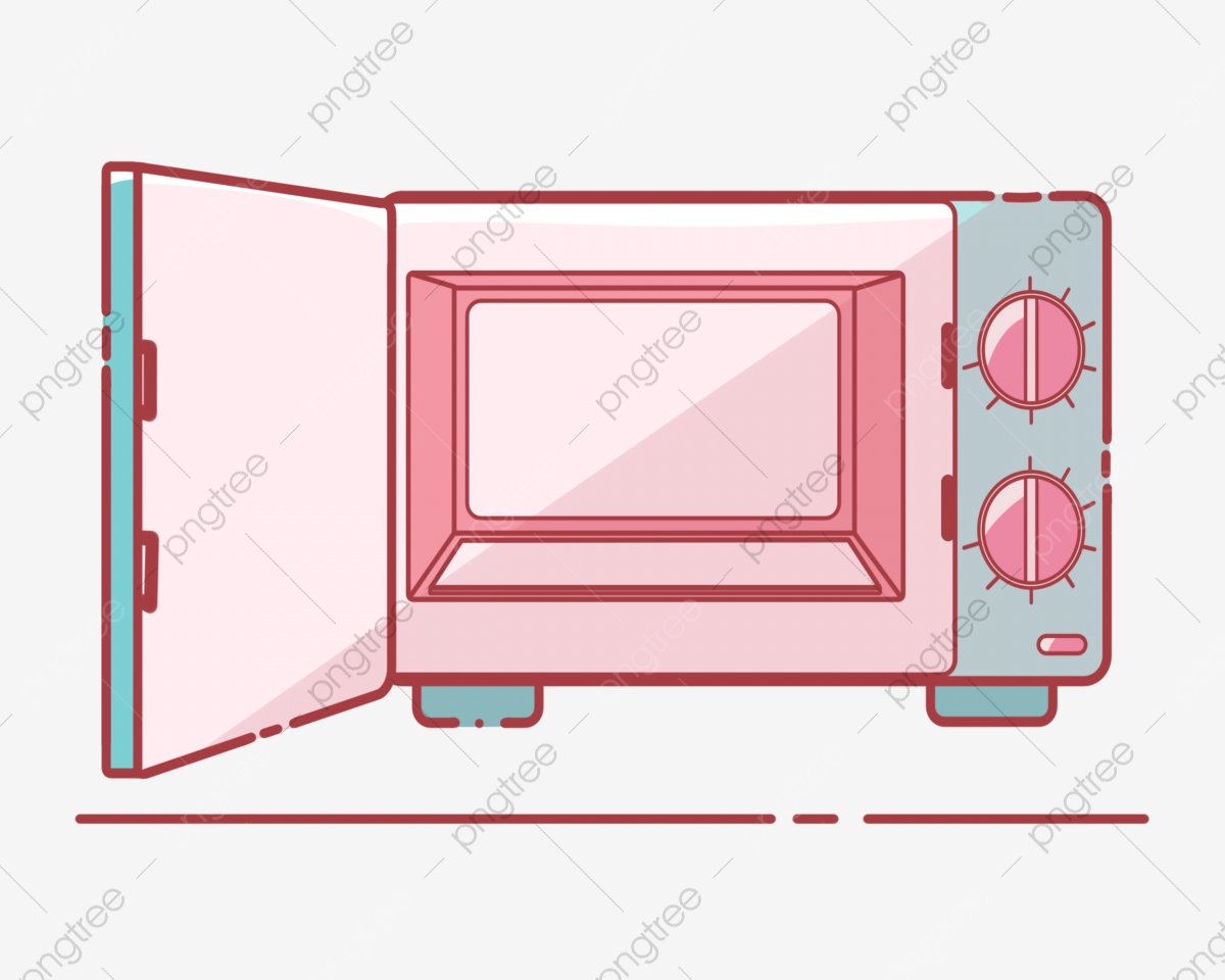 https pngtree com freepng open pink microwave 4548094 html